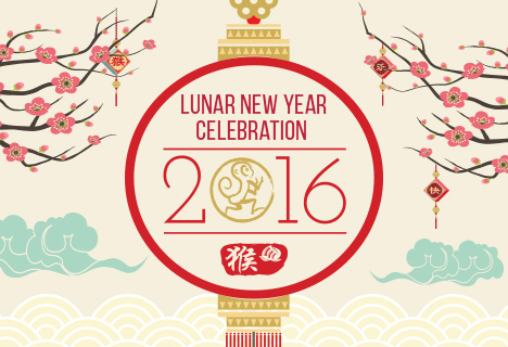 Lunar New Year Celebration on Mon, Feb. 8