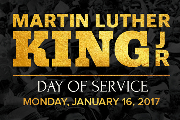 Martin Luther King Day Celebrated, Monday January 16th 2017