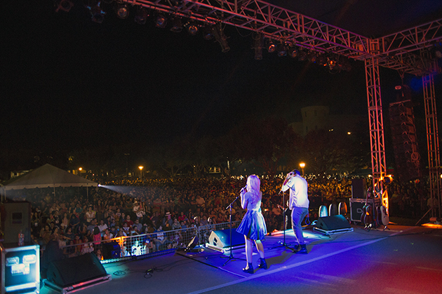 The Rio Grande Valley turned out in the thousands at UTRGV's Quad to see Disney Channel star Dove Cameron on Community Day, the final day of HESTEC 2015 festivities.