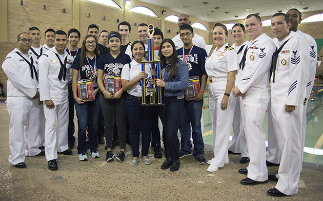 PSJA Southwest High School wins U.S. Navy SeaPerch Challenge at HESTEC