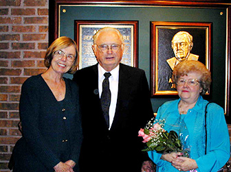 Dr. Marian Monta, Albert L. Jeffers and his wife Mary Lea Jeffers
