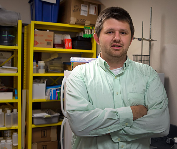 Buford Lessley earns state recognition for his research on Brownsville resacas.