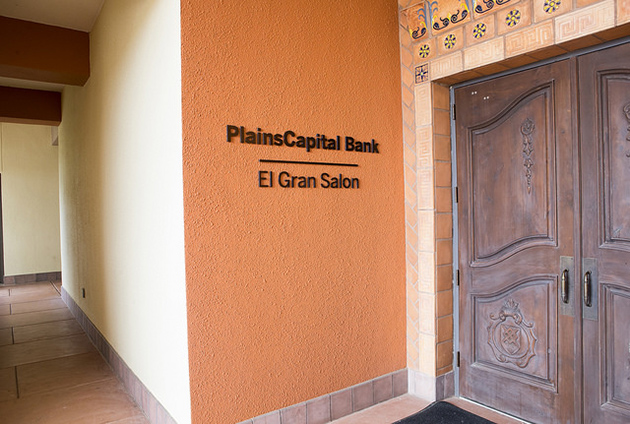 UTRGV has announced a $1 million gift from PlainsCapital Bank for scholarships, and on Friday on the UTRGV Brownsville Campus announced the naming of the PlainsCapital Bank - El Gran Salón, and PlainsCapital Bank - El Comedor. (UTRGV photo by David Pike)
