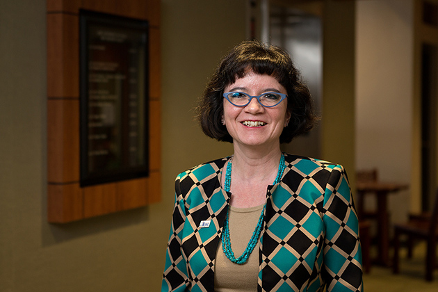 UTRGV Associate Vice Provost for Faculty Diversity and Professor of Economics Dr. Marie Mora has been recognized by the American Association of Hispanics in Higher Education as recipient of the 2016 Outstanding Support of Hispanic Issues in Higher Education Award. (UTRGV Photo by Paul Chouy)