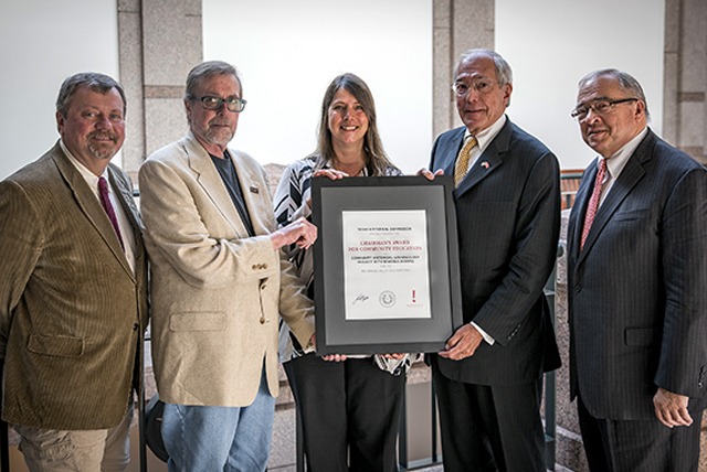 CHAPS Program's RGV Civil War Trail Project garners statewide award from THC