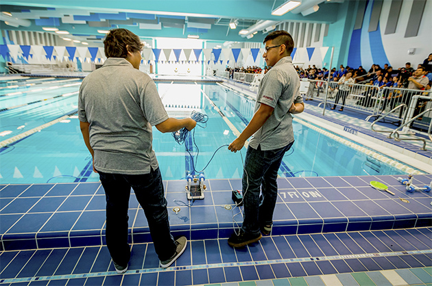 Harlingen High School wins HESTEC Navy SeaPerch Challenge on home turf