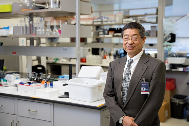 Dr. Andrew Tsin is chair of the UTRGV School of Medicine Department of Biomedical Sciences and associate dean of Research.