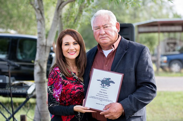 Commissioner Eloy Garza Recognition's