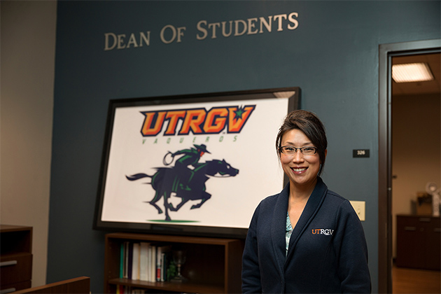 Rebecca Gadson has been named UTRGV's new dean of students and associate vice president for student life. (UTRGV Photo by Paul Chouy)