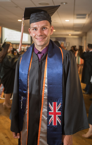 Luke Mazingham received his Bachelor of Science in Health and Human Performance