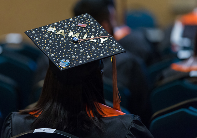 "Even unadorned, the mortarboard says, ""I did it,"" and anyone wearing it tells the world how hard they have worked to get a university degree."