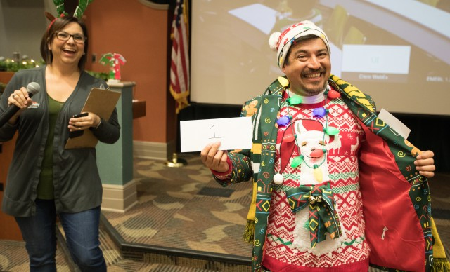 The UTRGV School of Medicine held its annual Ugly Sweater Contest