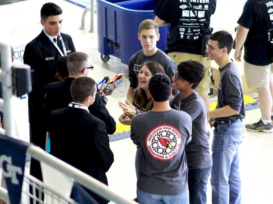 Image of Five Valley high schools represent UTRGV at National SeaPerch Challenge
