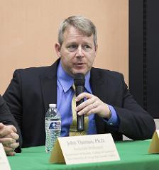 Dr. John Thomas, assistant professor of biology