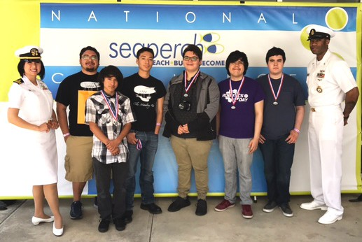 Rio Hondo High School was one of five teams from the Rio Grande Valley to compete in May at the National SeaPerch Challenge in Atlanta, Georgia. (Photo courtesy of Christopher Brotzman-Gonzales)