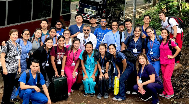 UTRGV biomedical sciences students provided healthcare this summer for patients in rural Nicaragua.