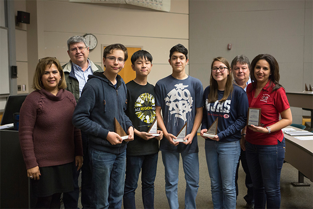 Area middle school students advance to MathCounts state competition