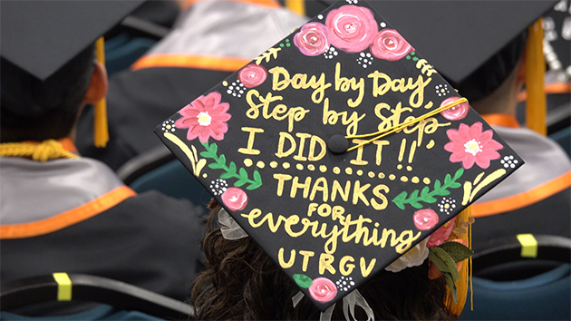 Day by Day, Step by Step, I DID IT !! THANKS FOR everything UTRGV