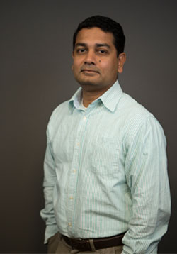 Dr. Upal Roy, assistant professor at the UTRGV Department of Health and Biomedical Science