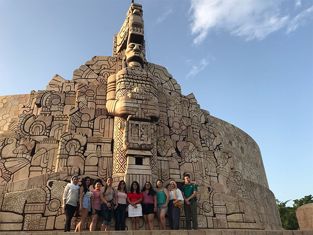 Study Abroad 2018 - Yucatan Mexico (Courtesy Photo)