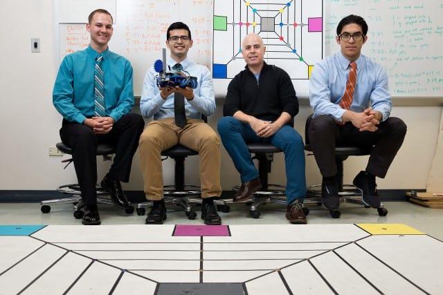 The UTRGV Robotics team