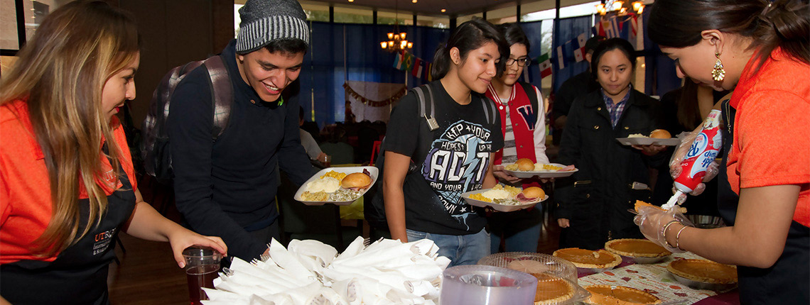 UTRGV International student thanksgiving