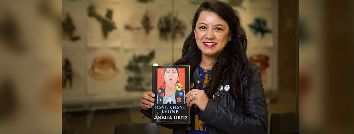 Book of poetry by UTRGV grad student Amalia Ortiz drawing national praise