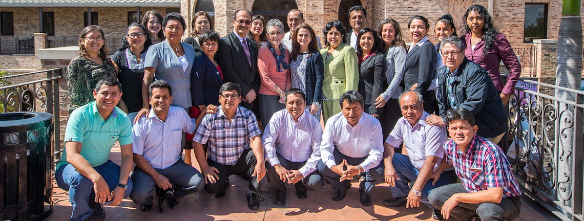 Peruvian educators visit UTRGV College of Education and P-16 Integration