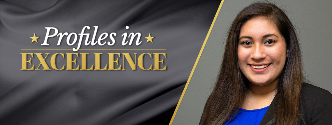 Meet Elizabeth Torres, a graduate student in education-counseling and guidance