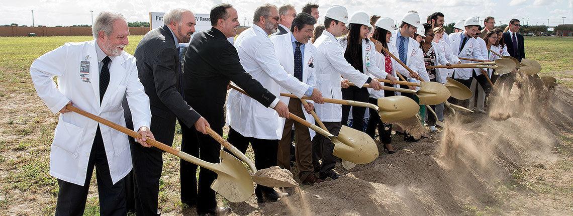 UTRGV, DHR, City of McAllen tout improved healthcare, economic impact, at research facility groundbreaking