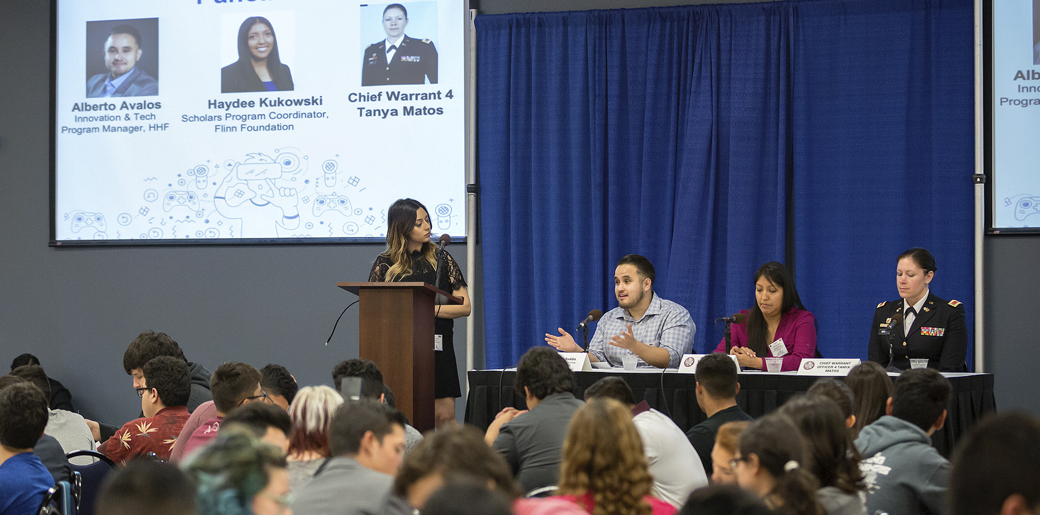 Image of UTRGV hosts Hispanic Heritage Foundation and U.S. Army's first Coder Summit