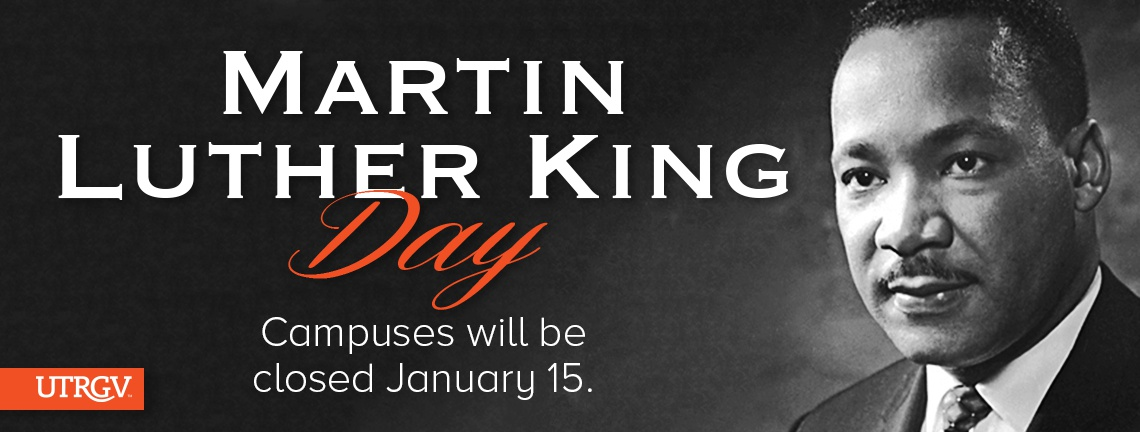Campus closed MLK Day January 15.
