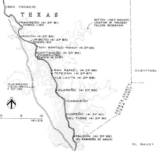 Map Of Zapata Texas.Utrgv Second Battle Of El Clareno And Hanging Of Zapata County Judge