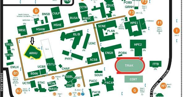UTRGV Maps Directions