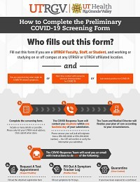 How to Complete the Preliminary COVID-19 Screening Form