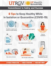 8 Tips to Keep Healthy While in Isolation or Quarantine (COVID-19)