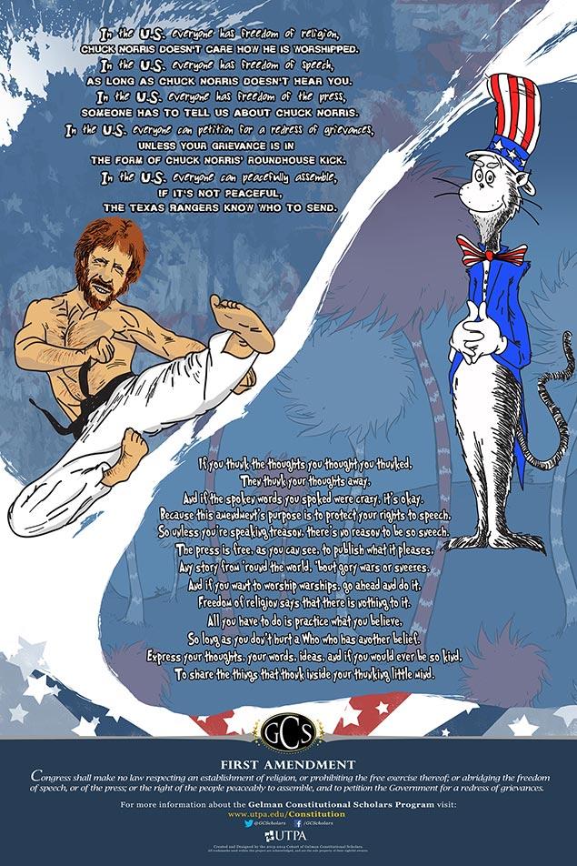 Utrgv  Gcs Outreach Projects Chuck Norris And Dr Seuss