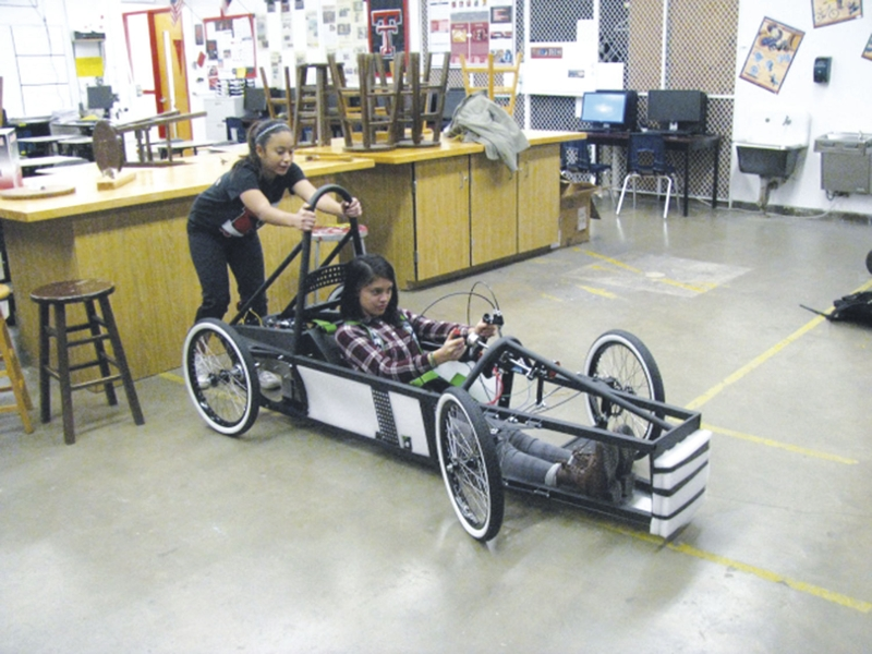 Harlingen students build electric cars for competition