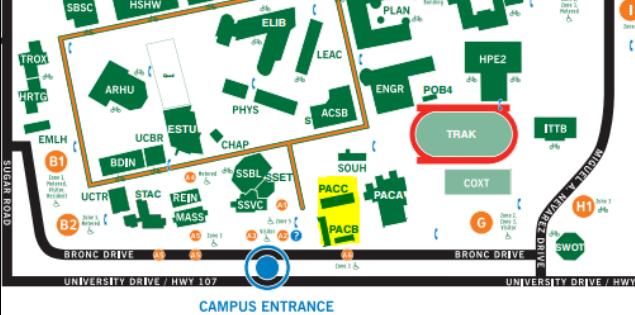 UTRGV Maps and Facilities