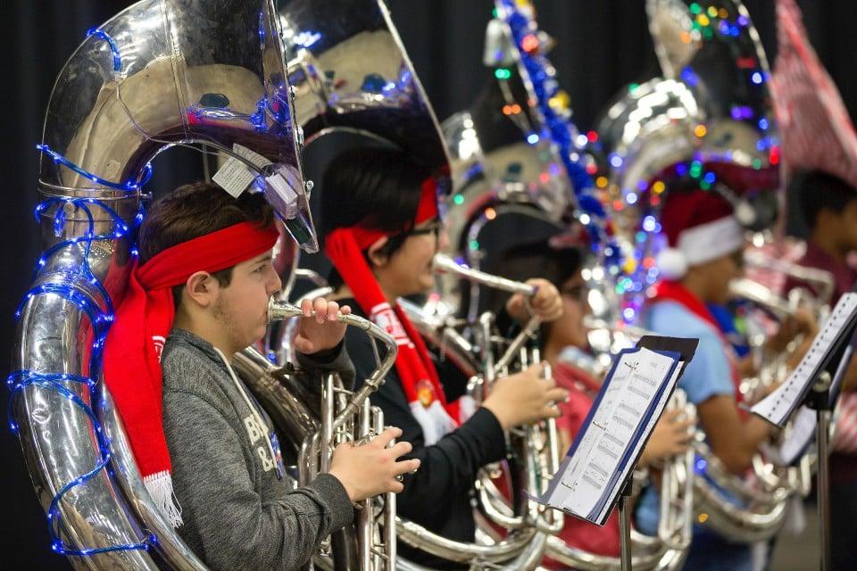 Tuba Christmas.The Newsroom Stay Tuned Rgv Tuba Christmas Set To Break