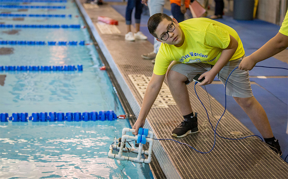 SeaPerch Challenge tests the STEM minds of students through underwater robot challenge