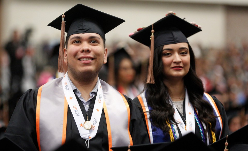2018 Winter Commencement on the McAllen Convention Center