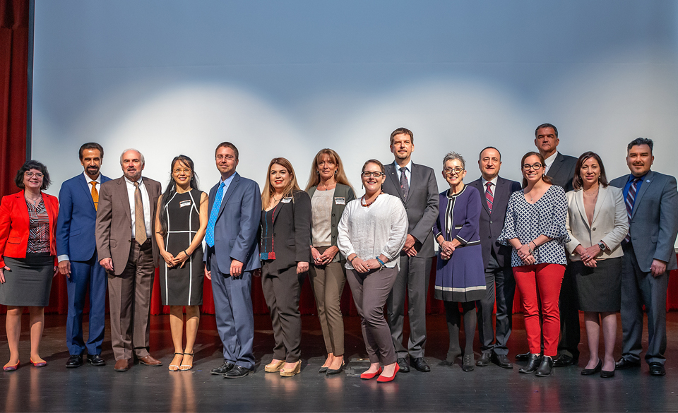 Exceptional accomplishments by faculty recognized at annual UTRGV awards program