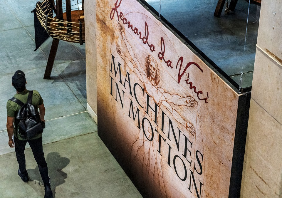 'Leonardo da Vinci: Machines in Motion' interactive exhibit now open to public at UTRGV Edinburg Campus