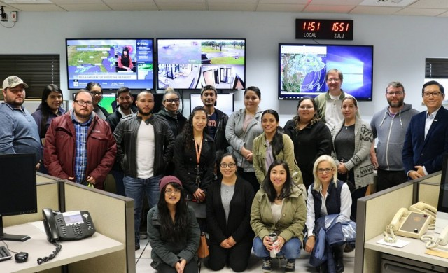 National Weather Service Center in Brownsville