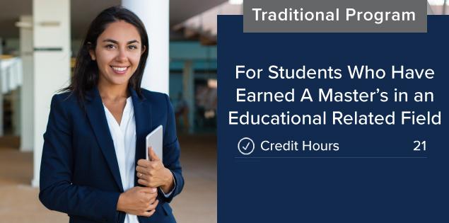 principal certification degree utrgv programs credential hours credit masters