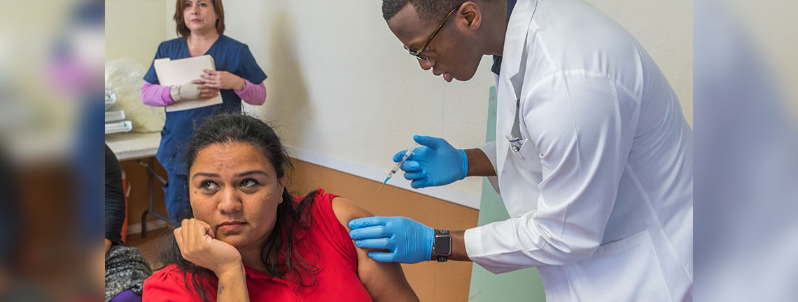 School of Medicine Flu Shots