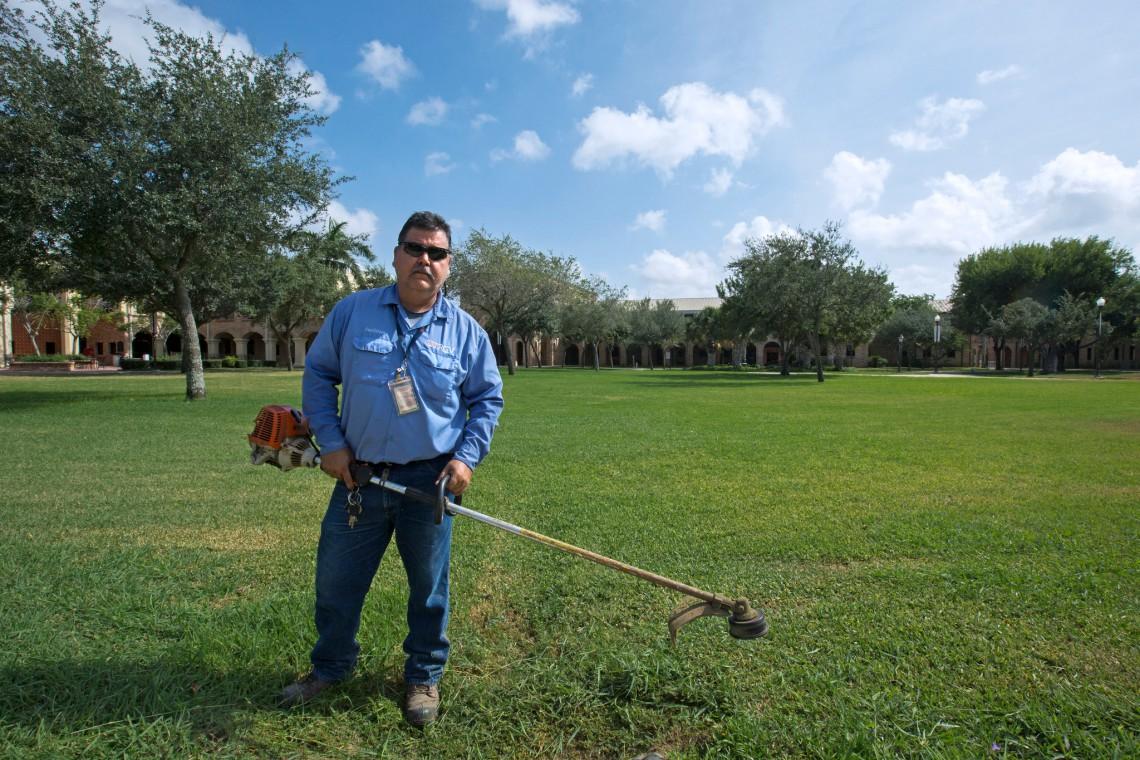 Rodney Dorsett, UTRGV groundskeeper