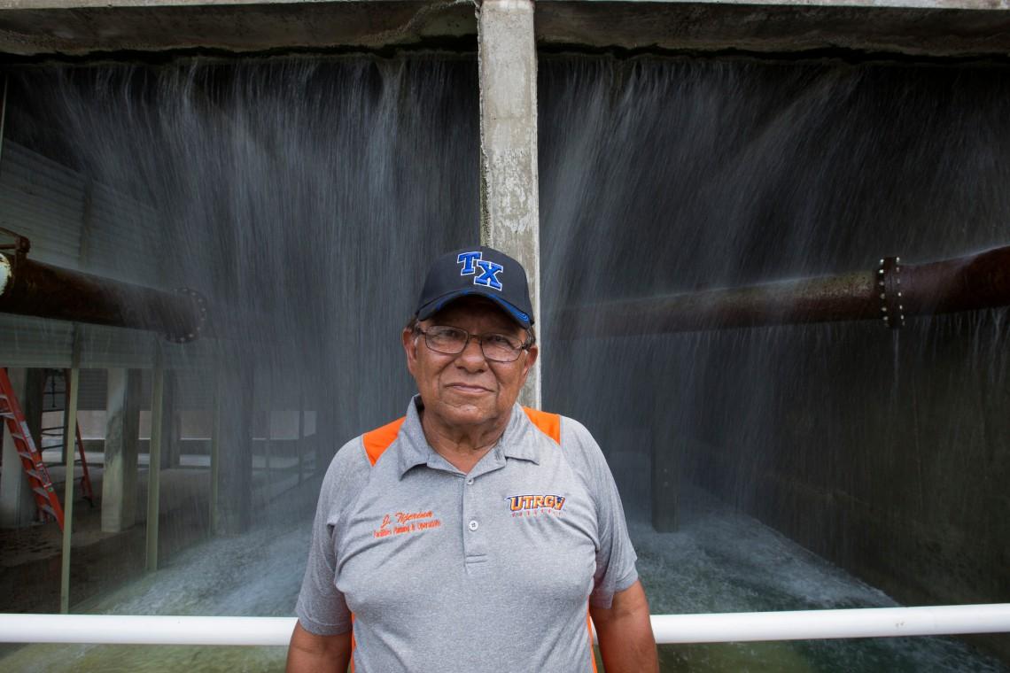 Jose Tijerina, UTRGV groundskeeper