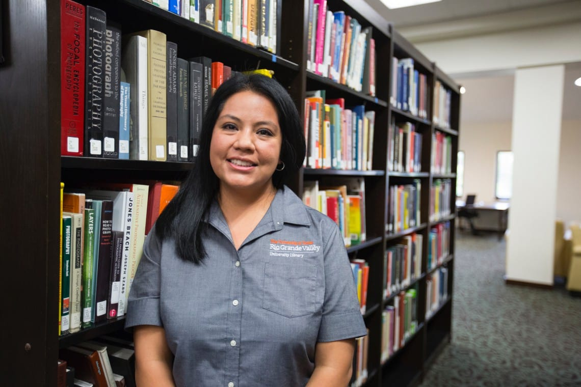 Liliana Sanchez UTRGV librarian